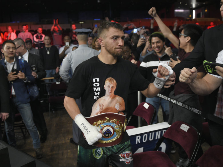 Vasyl Lomachenko finds peace, focus in California training