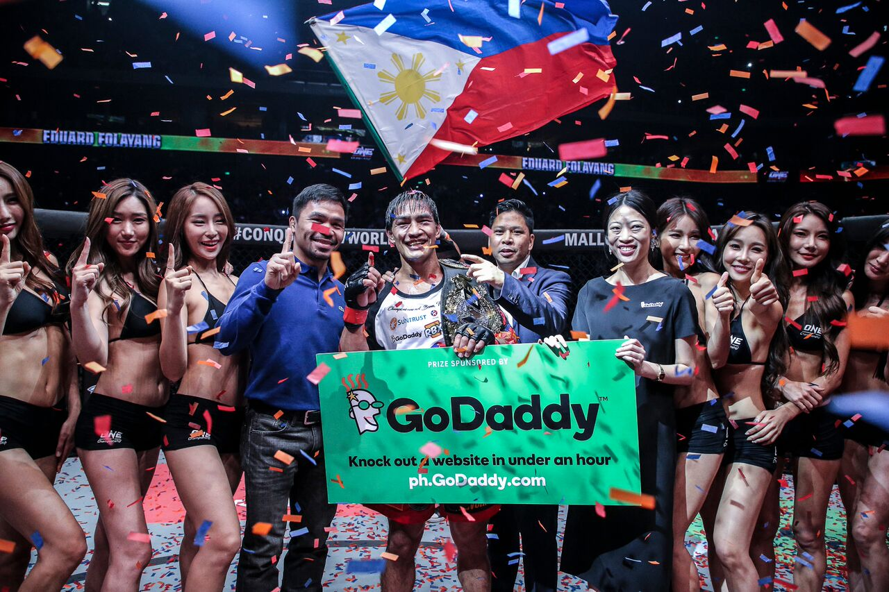 ONE chairman likens Eduard Folayang to Manny Pacquiao