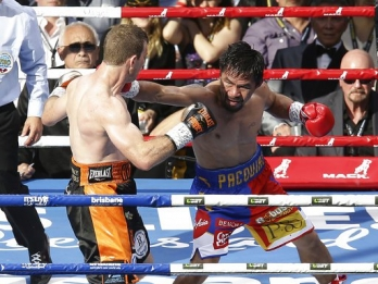 Arum: Manny Pacquiao wants rematch with Jeff Horn