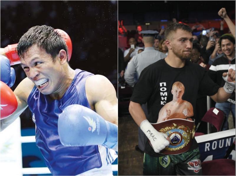 Pinoy Olympian Charly Suarez once fought Vasyl Lomachenko