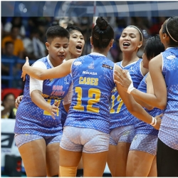 Lady Warriors, Jet Spikers battle for first Finals spot
