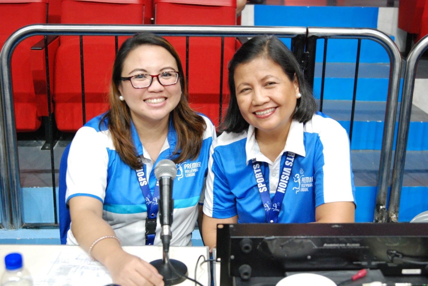 Mac and Kris: A pair of sweet-voiced court announcers