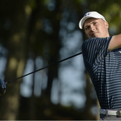 Spieth feeling relaxed as he chases history at Quail Hollow