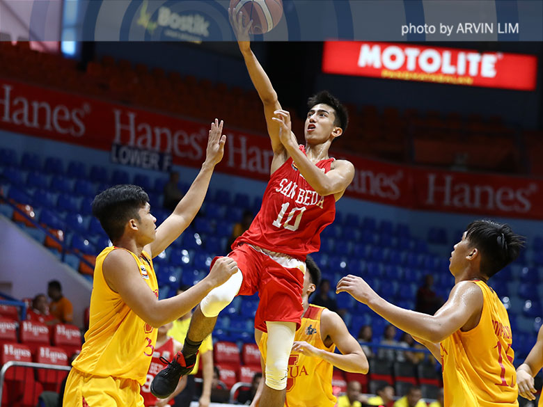 San Beda vents ire on previously undefeated Malayan