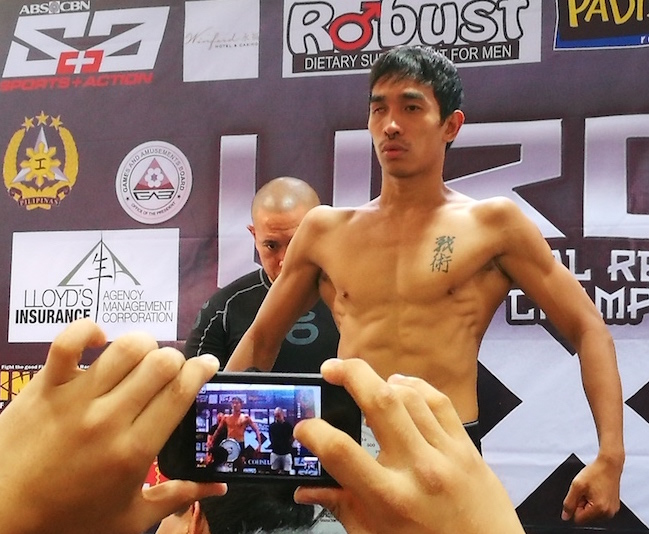 Castillo out to prove he's deserving of a URCC championship