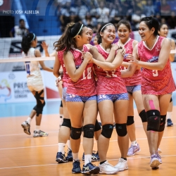 Cool Smashers, Jet Spikers battle for third place trophy