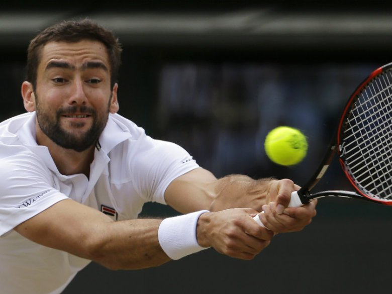 Wimbledon finalist Cilic withdraws from Cincinnati