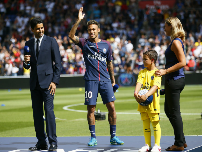 Neymar could finally make PSG debut on Sunday