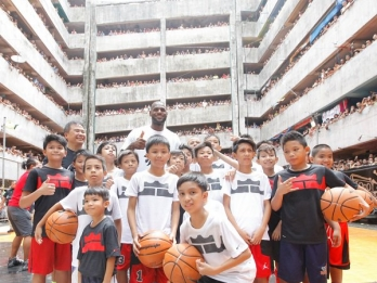 Shoe pays homage to Filipino tenement basketball culture