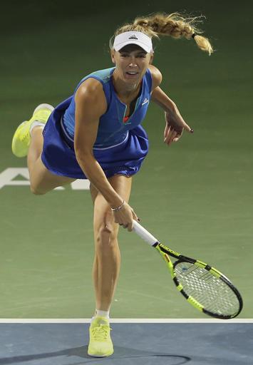 Wozniacki advances to Rogers Cup final