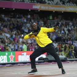 Bolt gets the cheers, and Americans get the medals at worlds