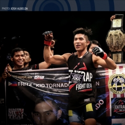 Strawweight champ Biagtan dominated his 'idol' at URCC XXX