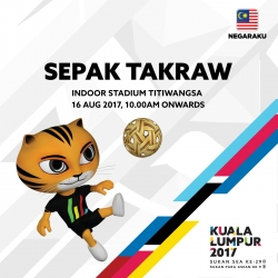 Philippines bags first 2017 SEA Games medal via Sepak Takraw