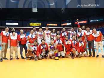 MVP Capate says maturity carried HD Spikers to latest title