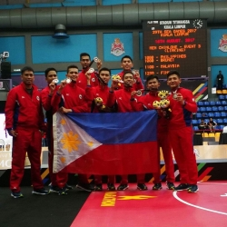 Warm welcome for Pinoy contingent at the SEA Games in KL