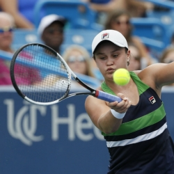 Qualifier Barty knocks out Venus Williams in Cincinnati