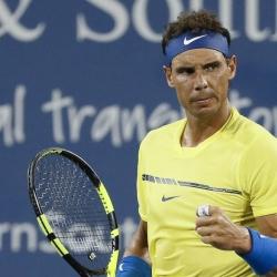 Nadal, Pliskova advance at Cincinnati on day of upsets