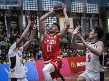 San Beda escapes Las Pinas with victory vs Perpetual