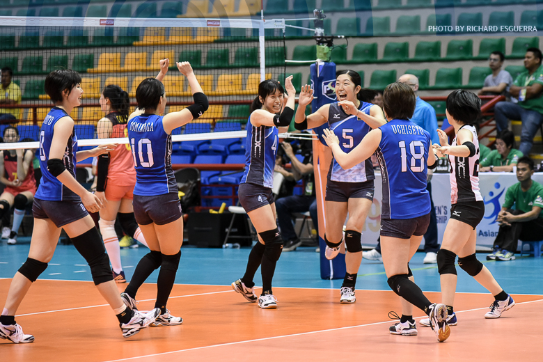 Japan claims fourth title, frustrates Thais in five sets