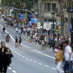 US college teams in Barcelona during van attack, players OK