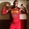 LeBron James flexes in new Cleveland Cavaliers uniform