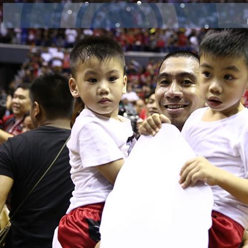 Pinoy athletes and their bundles of joy