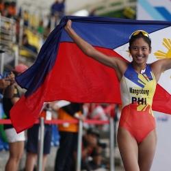 Huelgas, Mangrobang complete PHI's triathlon sweep