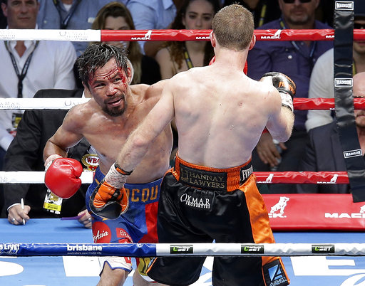Brisbane City Council withdraws funding for Horn-Pacquiao rematch