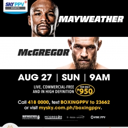 Thank You Points await Mayweather-McGregor PPV subscribers