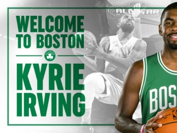 Irving will wear No. 11 with Celtics