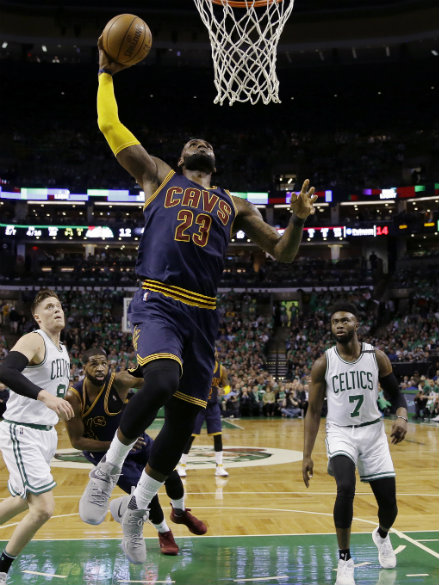 """LeBron James says jersey burnings have become """"ridiculous ..."""