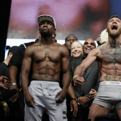 Mayweather, McGregor ready to rumble in much-hyped fight