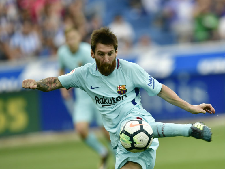 Messi Scores His 350th Spanish League Goal As Barcelona