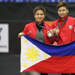 Centeno retains women's 9-ball gold in surprising windup