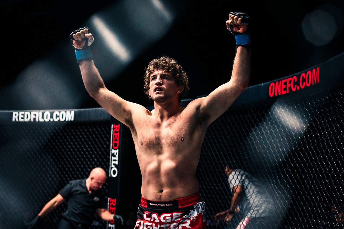 by the numbers one welterweight king ben askren abs cbn sports
