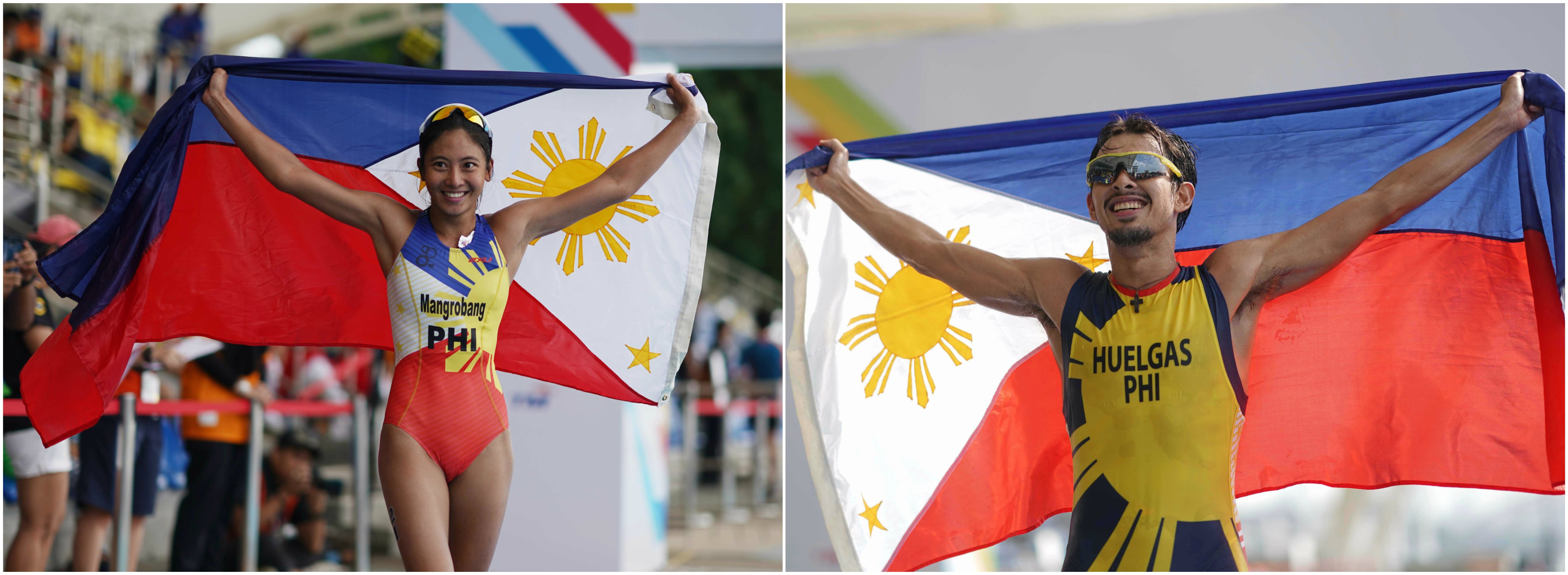 Tracksters, triathletes top SEAG performers for Team PHI
