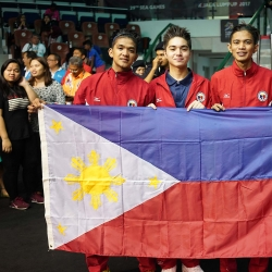 Philippine Squash bets fall to Singapore in SEA Games