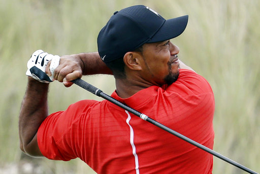Tiger Woods is back in the swing of things … sort of