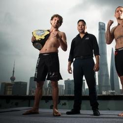 ONE champ Ben Askren, challenger Zebastian Kadestam face off