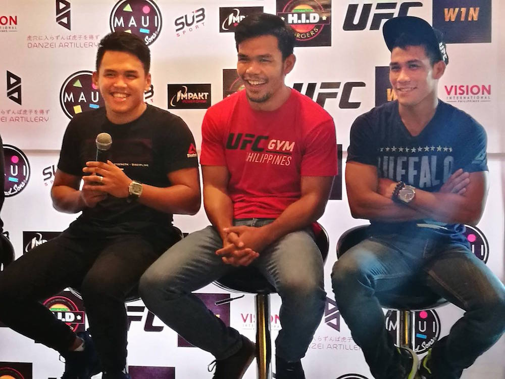 Pinoy MMA fighters unite to bring national pride