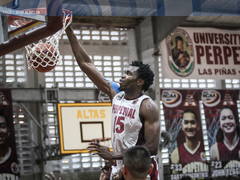 Perpetual's Eze is MVP leader; Perez, Mocon tied at third