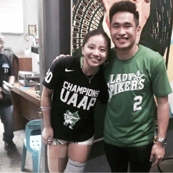 Desiree Cheng had an opening day message for Kib Montalbo