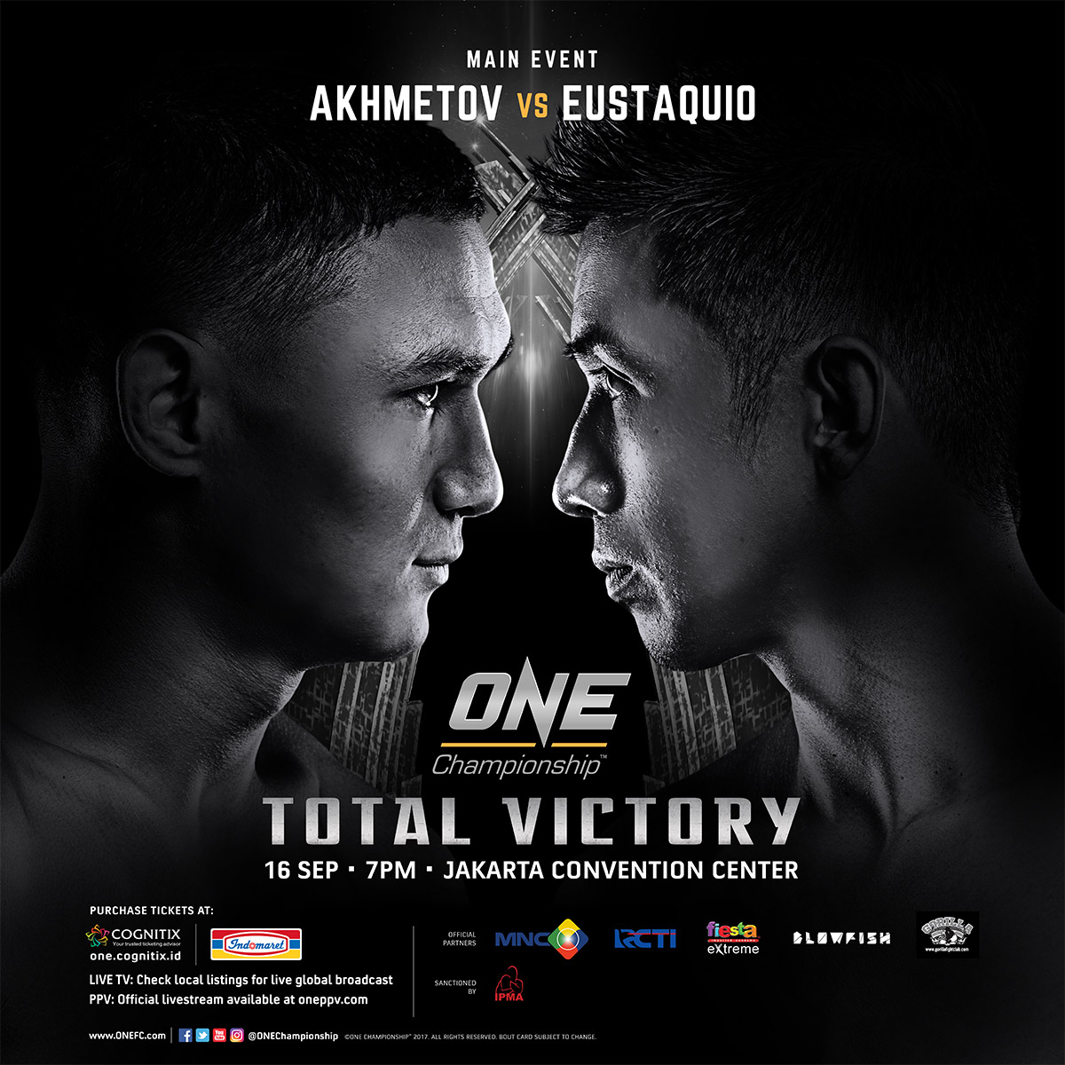 Two more Pinoys added to ONE Championship card in Jakarta