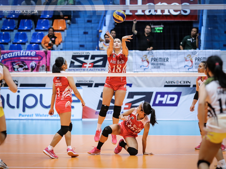 Lady Red Spikers face NCAA rival Lady Blazers