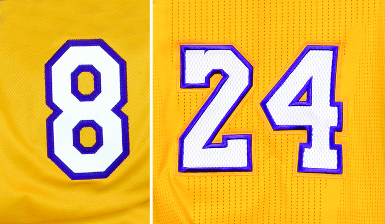 LA Lakers to retire both of Kobe Bryant's numbers