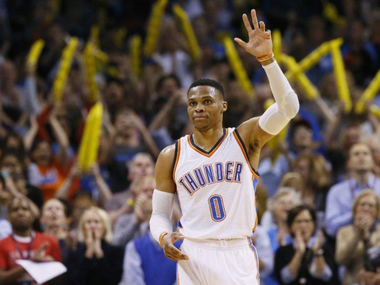 WATCH: Westbrook takes on Jimmy Fallon in NBA Jam