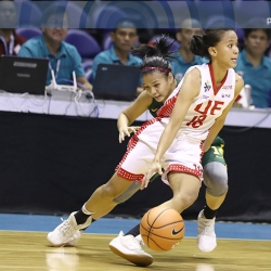 Lady Warriors put a stop to Lady Tams' charge