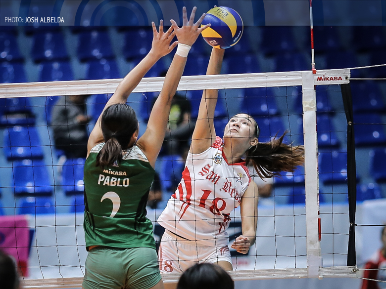 Lady Red Spikers keep Lady Blazers winless