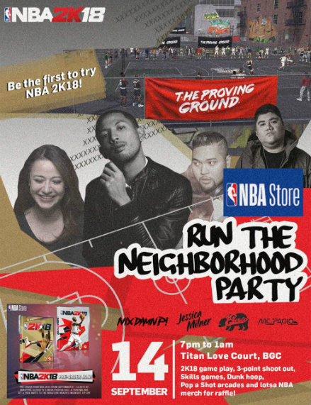 Run the Neighborhood and try out NBA 2K18