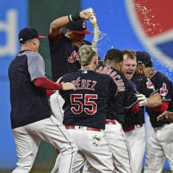 Indians win 22nd in a row in walk-off